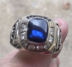 Lowe's 10k Gold, Diamond, Sapphire vintage ring for Sale in MD, US