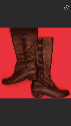 Size 7 tall by Ziera boots for Sale in Alexandria, VA