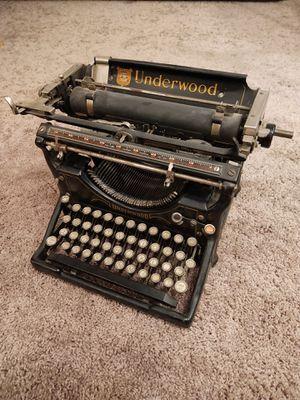 Antique 1927 Typewriter for Sale in Sandy, UT