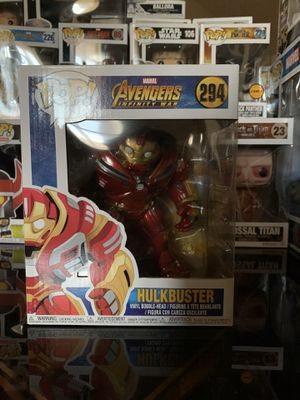 Funko Pop! Hulk buster for Sale in Irving, TX