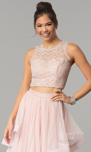 Pink dress/ Homecoming/Prom two pieces for Sale in Katy, TX