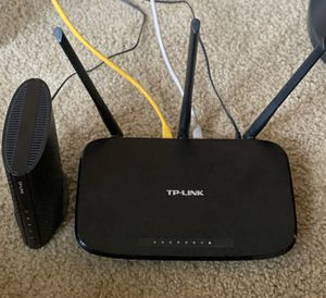 TP-Link Modem & Router (Like New) for Sale in Portland, OR
