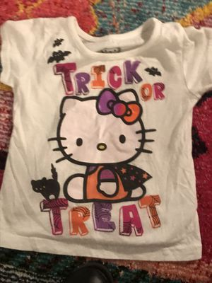 Hello kitty trick or treat shirt 3T for Sale in Houston, TX