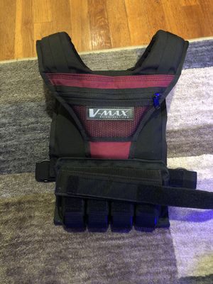 Vmax weighted vest for Sale in Old Bethpage, NY