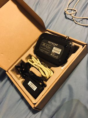 netear cable modem cm400 like new for Sale in Medford, MA