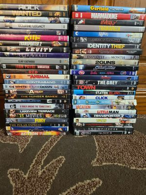 260 dvd movies. Must take all. Used for Sale in Everett, WA