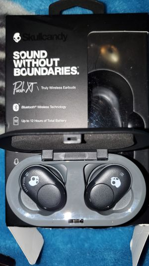 Skull Candy Push XT Bluetooth earbuds headphones for Sale in Olympia, WA