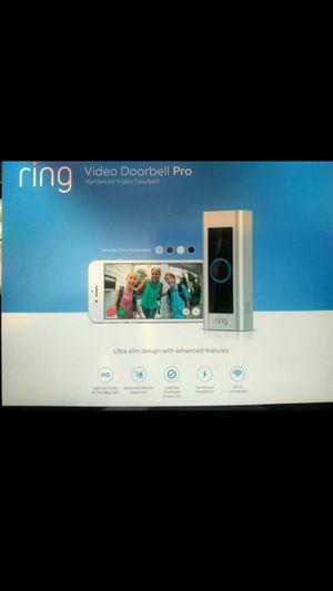 New Ring Doorbell PRO, Hardwired WiFi Security Camera Door Bell 1080HD for Sale in Orange, CA