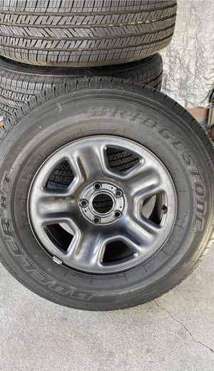 Jeep tires wheels for Sale in Norwalk, CA