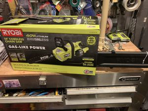 New ryobi chainsaw tool only no battery or charger for Sale in Plymouth, MA