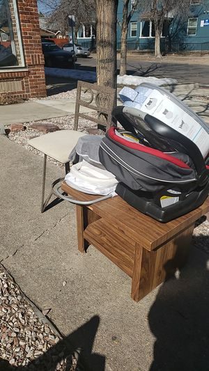 Free baby items and table / barstools for Sale in Denver, CO