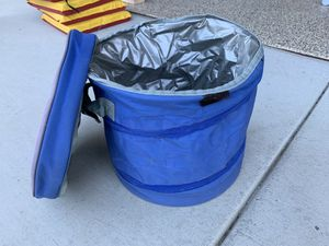 cooler- Blue collapsible for Sale in Coronado, CA