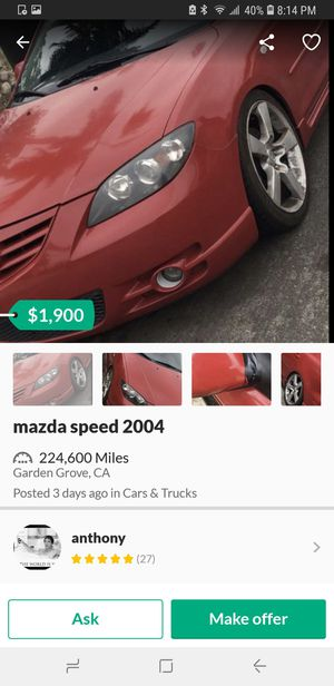 Mazda 3 2004 for Sale in Santa Ana, CA