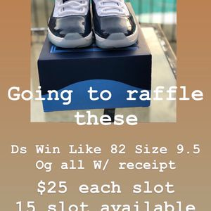 Jordan 11 Raffle for Sale in Tracy, CA