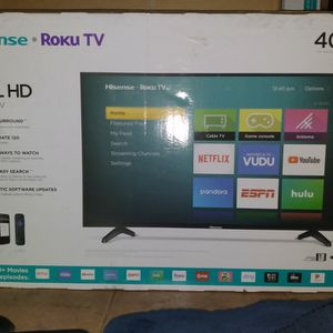 "📺RokuTV 40"" TV • Hisense FullHD (New)📺 for Sale in Anaheim, CA"