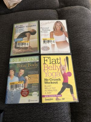 Work out videos 4 new videos for Sale in Roseville, CA