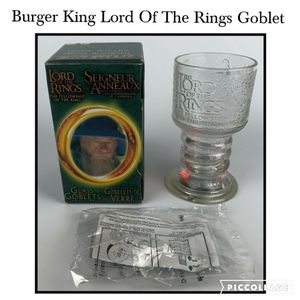 Lord Of The Rings Goblet Gandalf The Wizard Burger King 2001 Collectable for Sale in San Antonio, TX