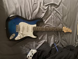 Blue b.c Stratocaster for Sale in Ocklawaha, FL