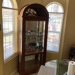 China Cabinet 35 X14 X 88 (in) for Sale in Marble Falls,  TX