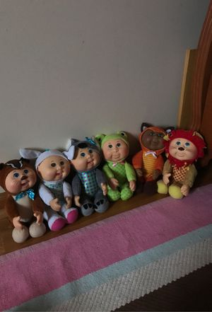Cabbage patch plushy's for Sale in Elmhurst, IL