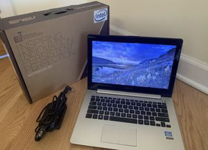 "✅Like NEW in BOX ✅ ASUS 13.3"" TOUCH Screen Windows 10 Laptop ✅ Core i5 – 3337U 4GB RAM– 240gb SSD Intel SSD ✅ Backlit Keyboard ✅ HDMI ✅ VGA ✅ Ether for Sale in Rolling Meadows, IL"