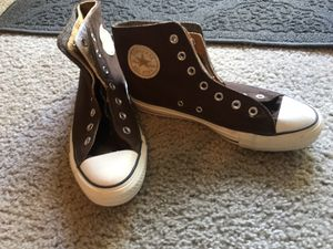 Brown with gold high top Converse for Sale in Rancho Cucamonga, CA