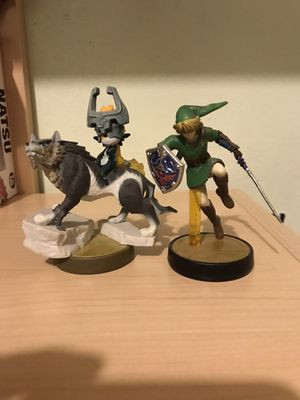 Nintendo Link and Wolf Link amiibo for Sale in Cary, NC