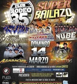 Tickets Club Rodeo 35 for Sale in Dallas,  TX