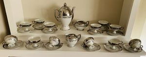 Absolutely gorgeous Bavaria Germany demitasse set for Sale in Stamford, CT