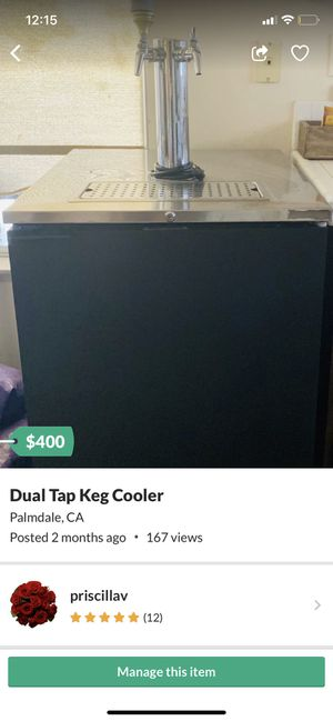 Keg Cooler!!! for Sale in Palmdale, CA