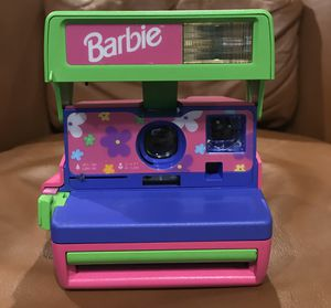 Vintage Barbie Polaroid 600 Camera for Sale in Queens, NY