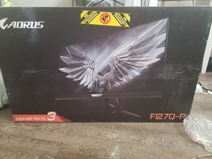 Aorus gaming computer screen for Sale in Henderson, NV