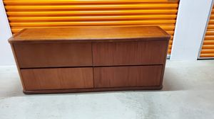 Heavy Wood Filing Cabinet for Sale in Tustin, CA