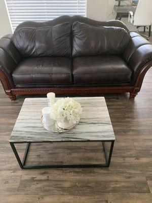 Genuine Leather Sofa for Sale in Phoenix, AZ