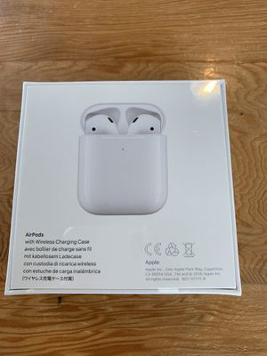 Apple Airpods 2 With Wireless Charging Case/Sealed for Sale in Milpitas, CA