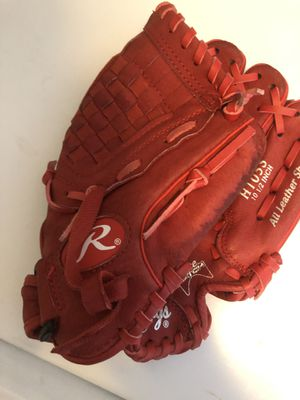 Kids 10.5 inch right handed baseball glove for Sale in Homer Glen, IL