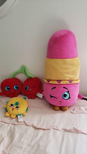 Shopkins stuffies for Sale in Gilbert, AZ