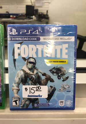 PS4 Fortnite deep freeze bundle for Sale in Baytown, TX