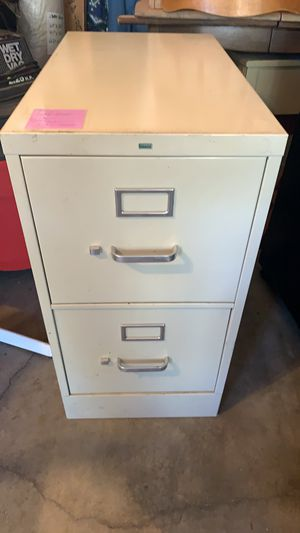 Filing Cabinet 2 Drawers for Sale in Lake Forest, CA