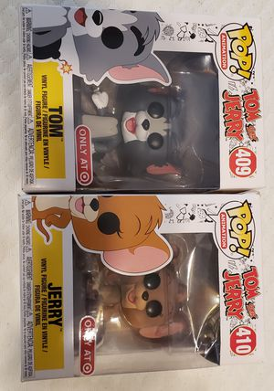 Tom and Jerry Funko Pops DAMAGED boxes for Sale in Dallas, TX