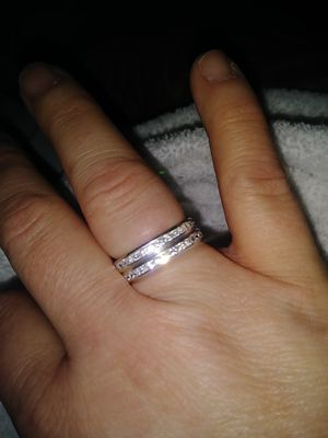 Sterling silver....rings are size 9 for Sale in Detroit, MI