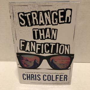 NEW Stranger Than Fanfiction hardcover book HCDJ Chris Colfer ~ children & YA for Sale in Albany, OR