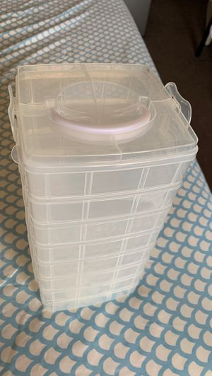 Plastic storage container for Sale in Stockton, CA