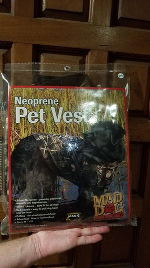 Dog neoprene pet vest for Sale in Vista, CA