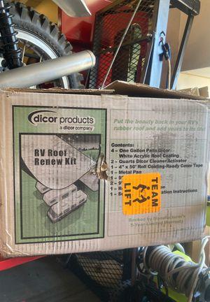 Rv roof renew kit by dicor for Sale in Menifee, CA