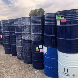55 Gallons Metal Drum Barrels $20 for Sale in Littlerock, CA
