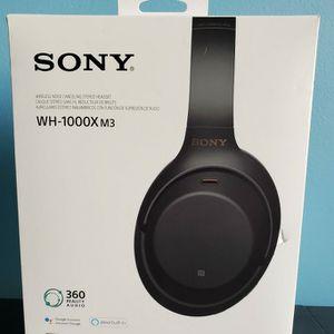Sony WH-1000XM3 Wireless Noise Canceling Headphones for Sale in Woodbridge, VA
