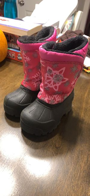 Toddler Girl Snowboots for Sale in China Grove, NC