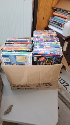 Box of Kids Movies including Disney and DreamWorks Movies! for Sale in Fresno, CA
