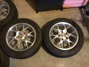 Slightly used BMW All wheel drive 3 series silver rims and tires for Sale in Schuylkill Haven, PA